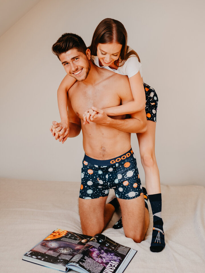 Looking for an original and unusual gift? The gifted person will surely surprise with Men's Trunks Cosmos