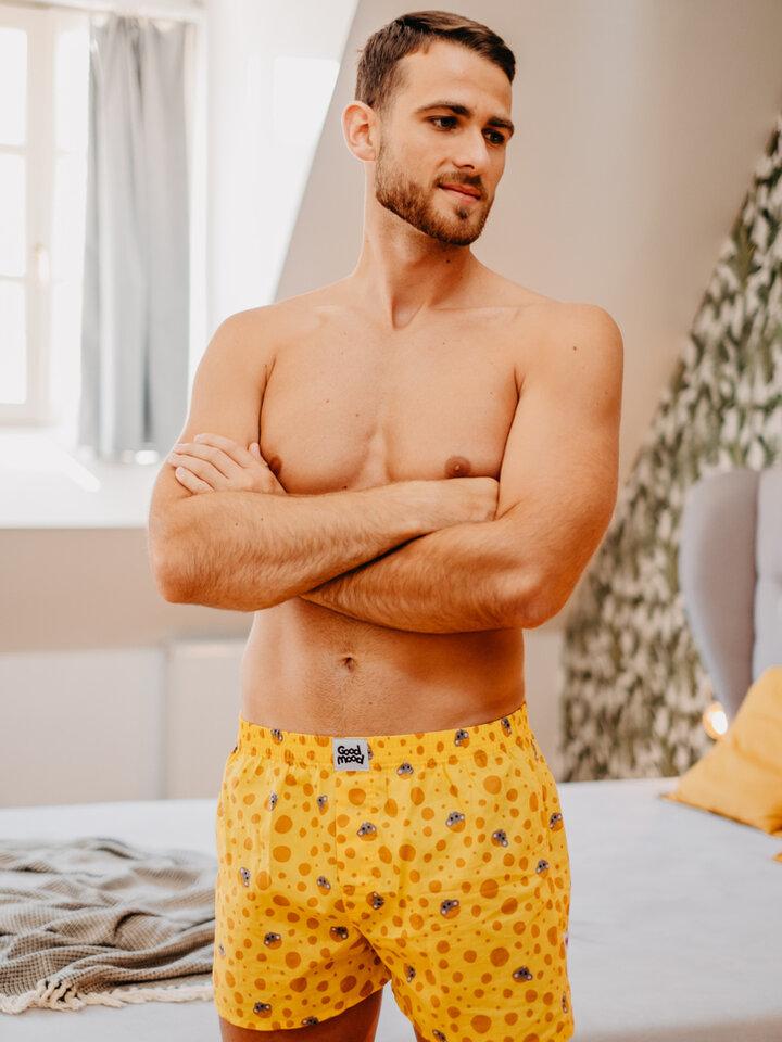 Original gift Men's Boxer Shorts Cheese