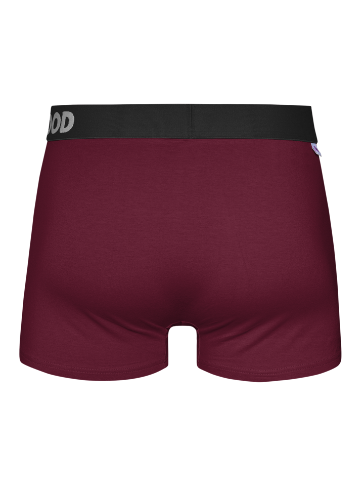 Sale Wine Red Men's Trunks