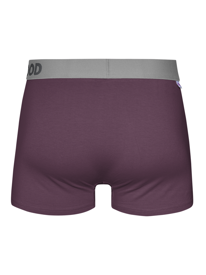 Looking for an original and unusual gift? The gifted person will surely surprise with Eggplant Purple Men's Trunks