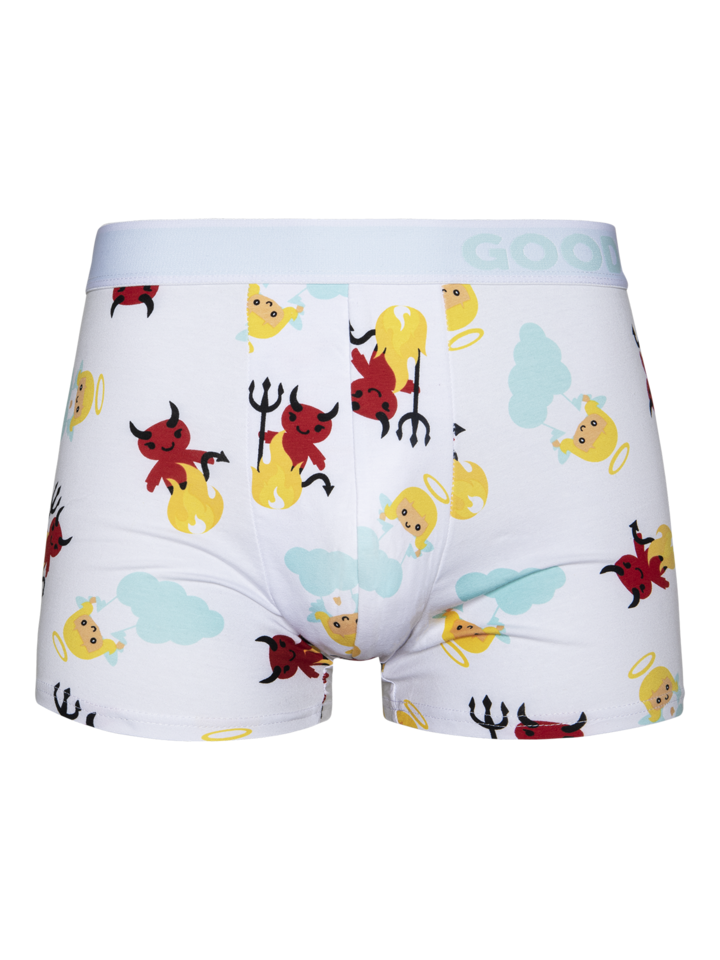 Lifestyle photo Men's Trunks Angel & Devil
