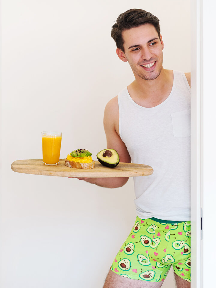 Sale Men's Trunks Avocado Love