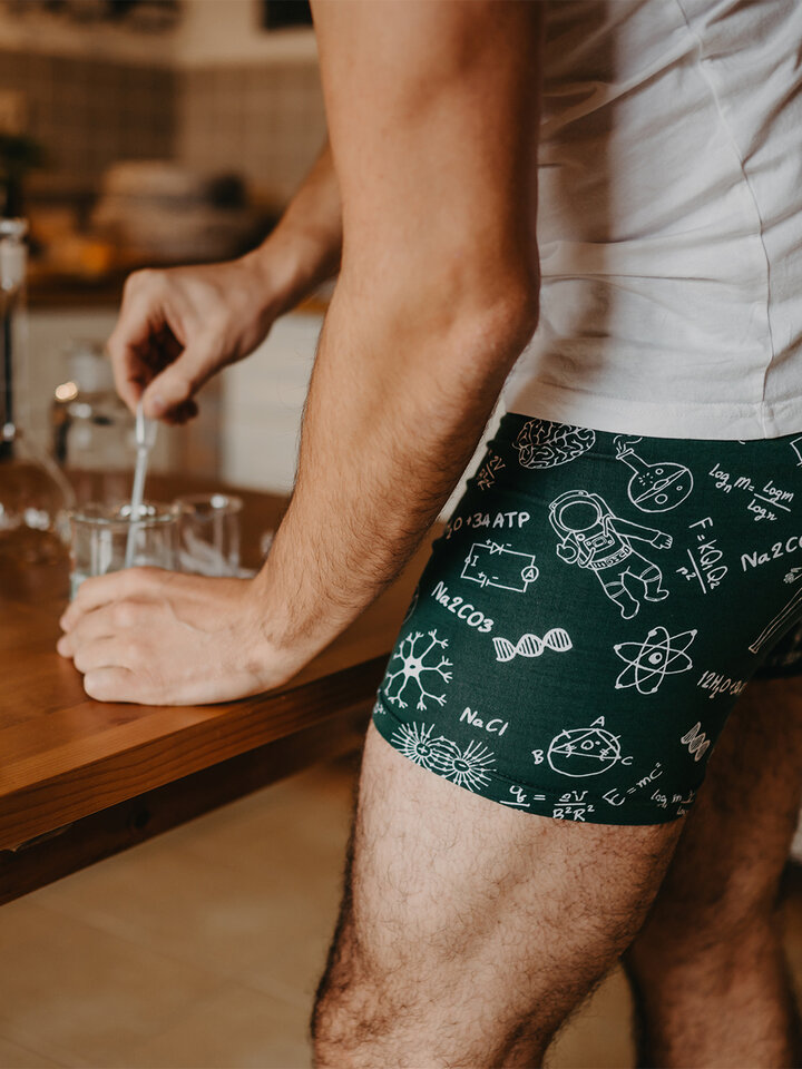 Sale Men's Trunks Physics vs. Chemistry