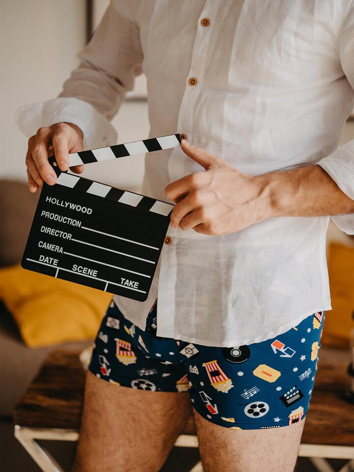 Obrázok produktu Živahne moške boksarice Kino