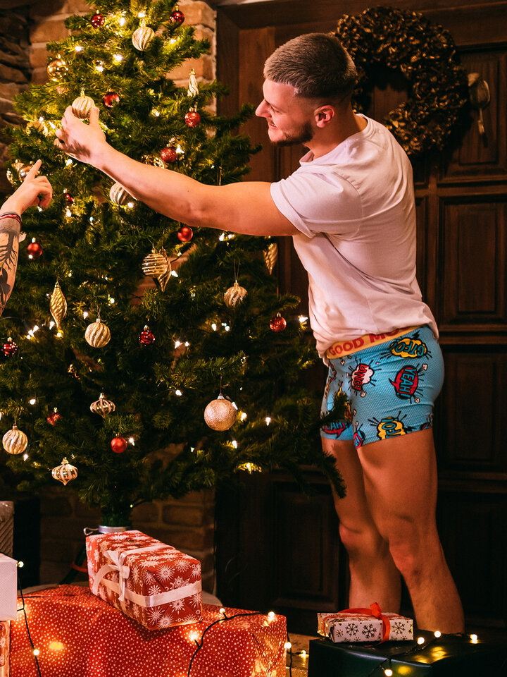 Looking for an original and unusual gift? The gifted person will surely surprise with Men's Trunks Comics