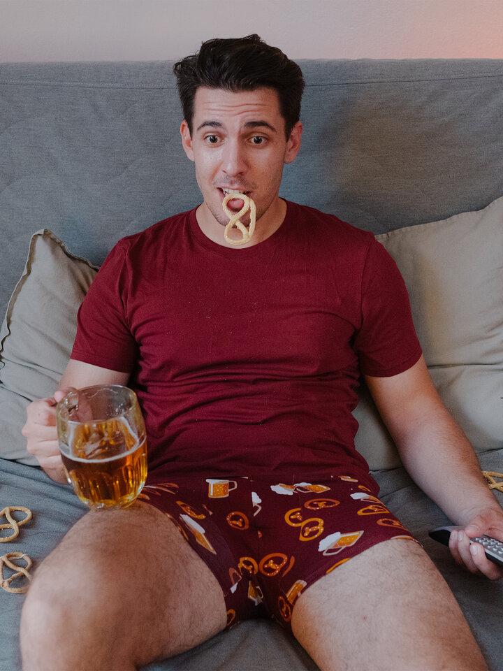 für ein vollkommenes und originelles Outfit Lustige Boxershorts für Männer Bier