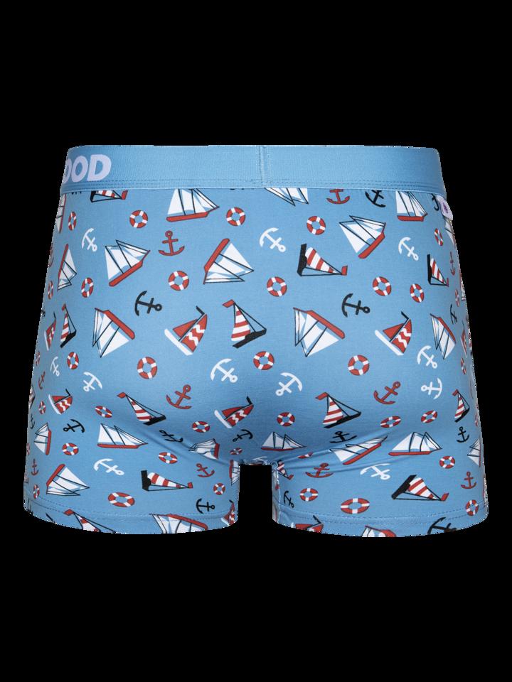 Pre dokonalý a originálny outfit Men'sTrunks Sailing