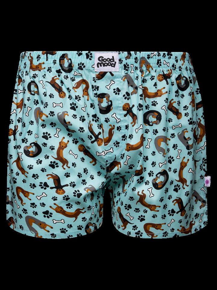 Pre dokonalý a originálny outfit Men's Boxer Shorts Dachshund