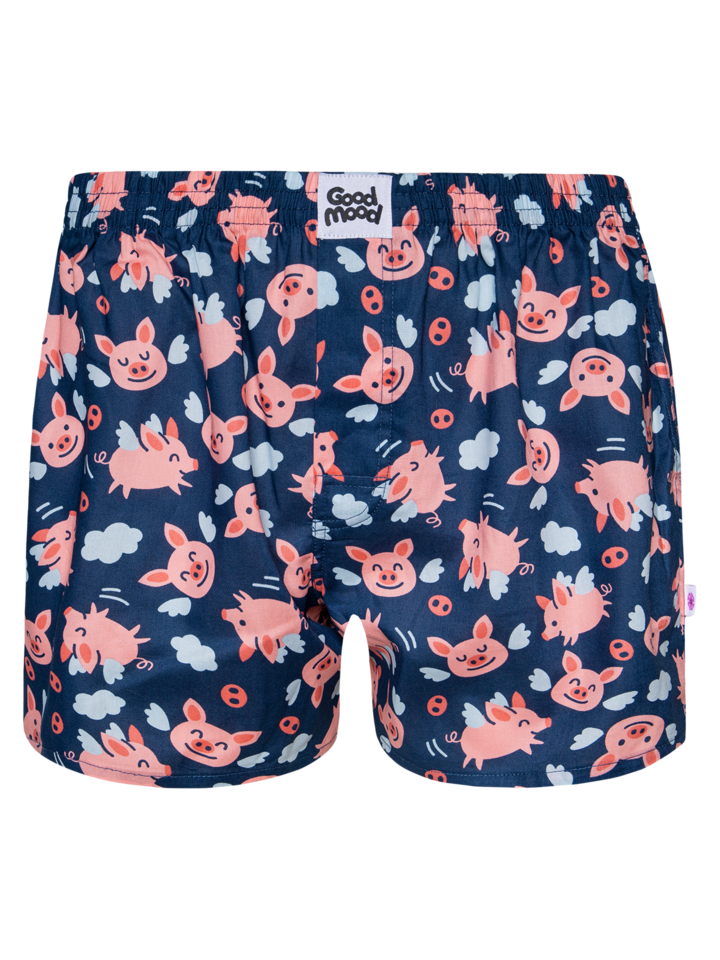 Lifestyle photo Men's Boxer Shorts Flying Pigs