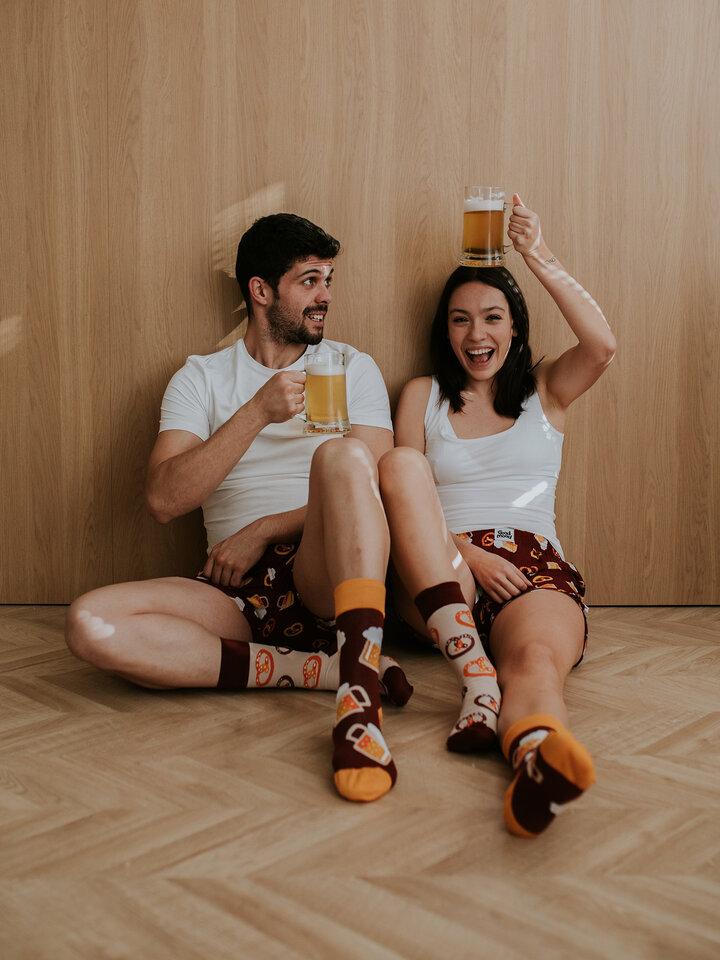 Pre dokonalý a originálny outfit Men's Boxer Shorts Beer