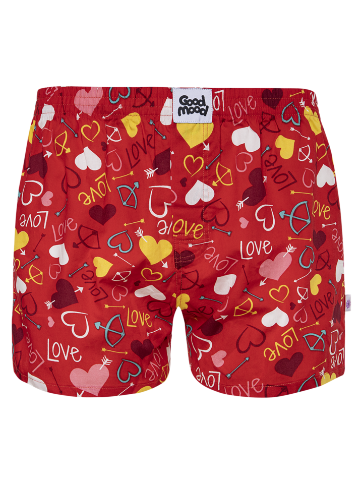 Potešte sa týmto kúskom Dedoles Men's Boxer Shorts Hearts