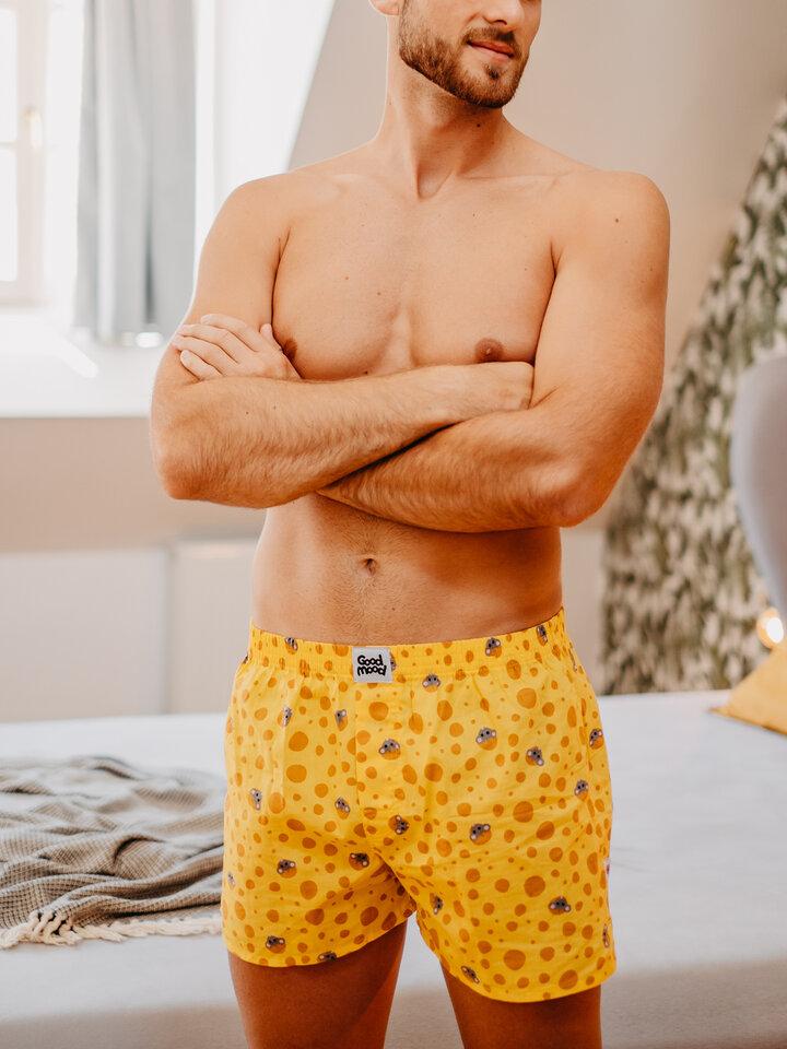 Obrázok produktu Vrolijke heren boxershorts Kaas