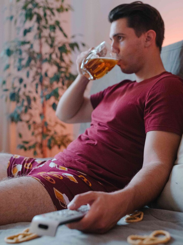 Looking for an original and unusual gift? The gifted person will surely surprise with Men's Trunks Beer