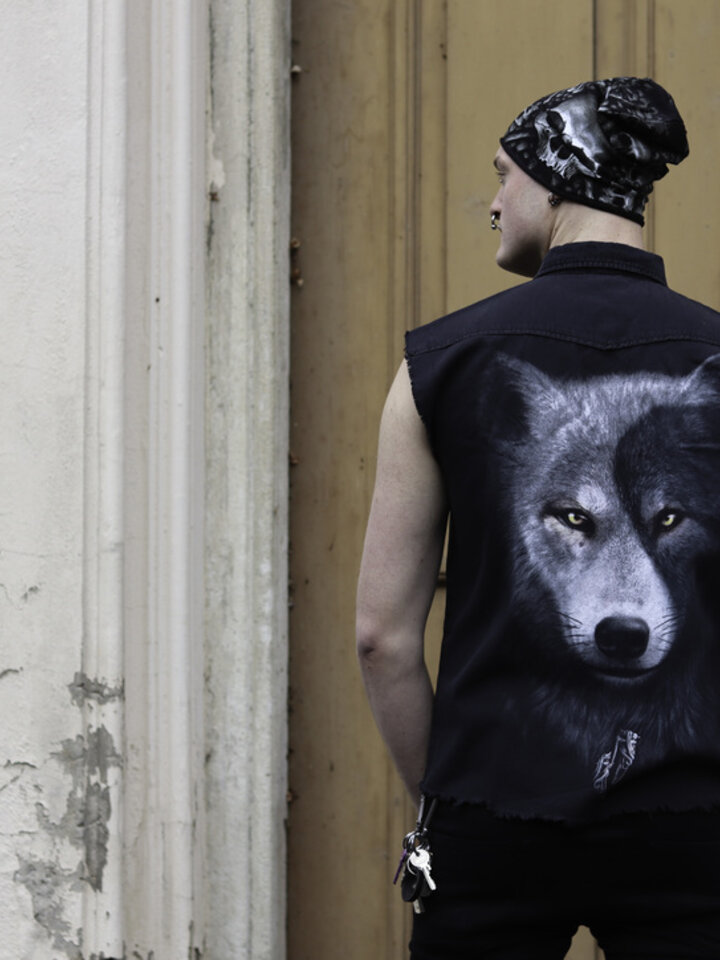 Original gift Sleeveless Shirt Wolf's Opposite