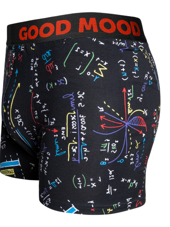 Looking for an original and unusual gift? The gifted person will surely surprise with Men's Trunks Mathematics