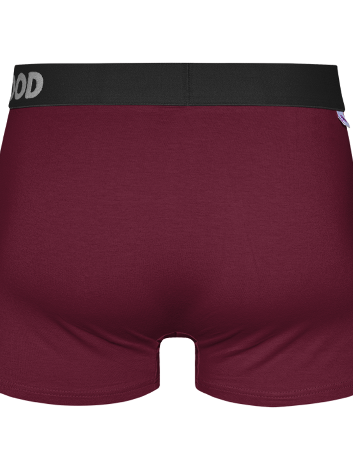Looking for an original and unusual gift? The gifted person will surely surprise with Wine red Men's Trunks