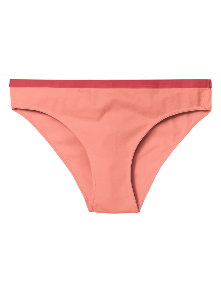 Lifestyle photo Peach Orange Women's Briefs