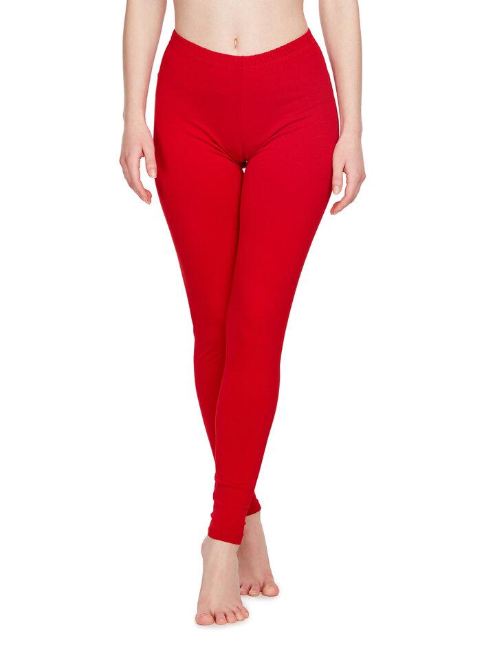 Gift idea Cotton Leggings Red