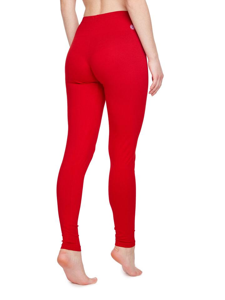 Original gift Cotton Leggings Red