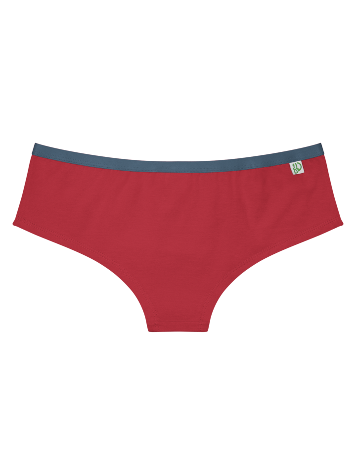 Lifestyle photo Red Women's Hipster Briefs