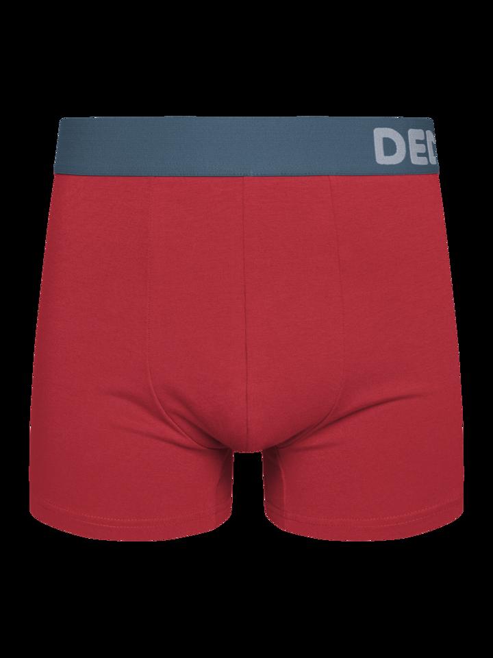 Lifestyle foto Červené pánské boxerky