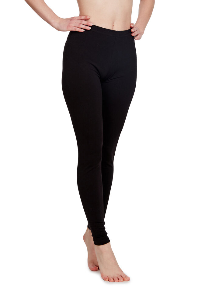 Lifestyle photo Cotton Leggings Black