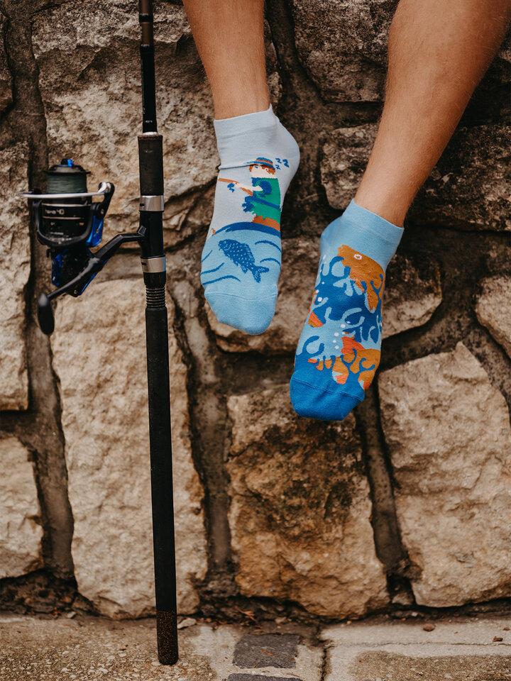 Original gift Ankle Socks Fishery