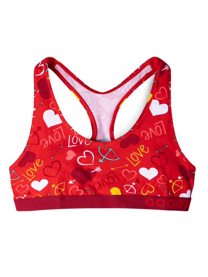 Looking for an original and unusual gift? The gifted person will surely surprise with Women's Bralette Hearts