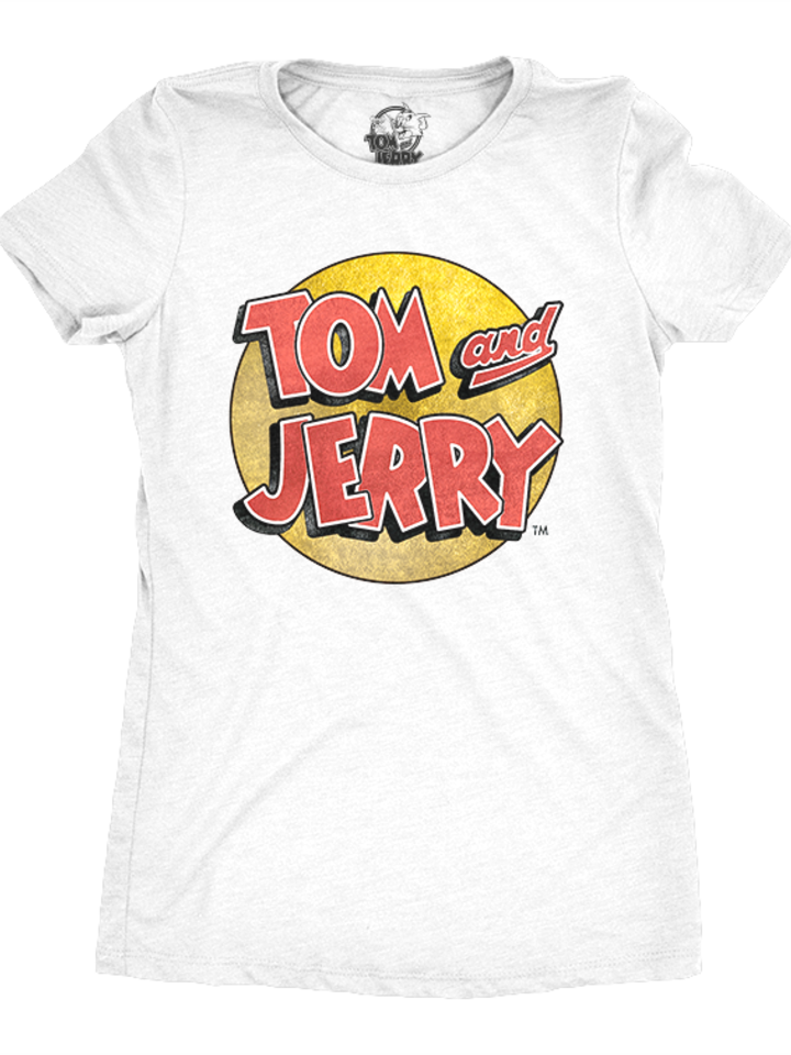 Sale Women's T-Shirt Tom & Jerry Logo