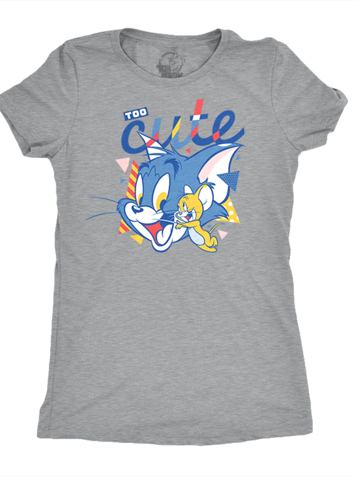 Lifestyle foto Dames-T-shirt Tom and Jerry™ - Too Cute