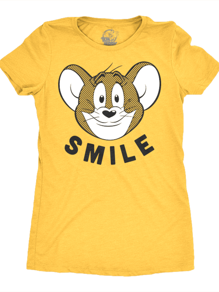Original gift Women's T-Shirt Tom & Jerry - Smile
