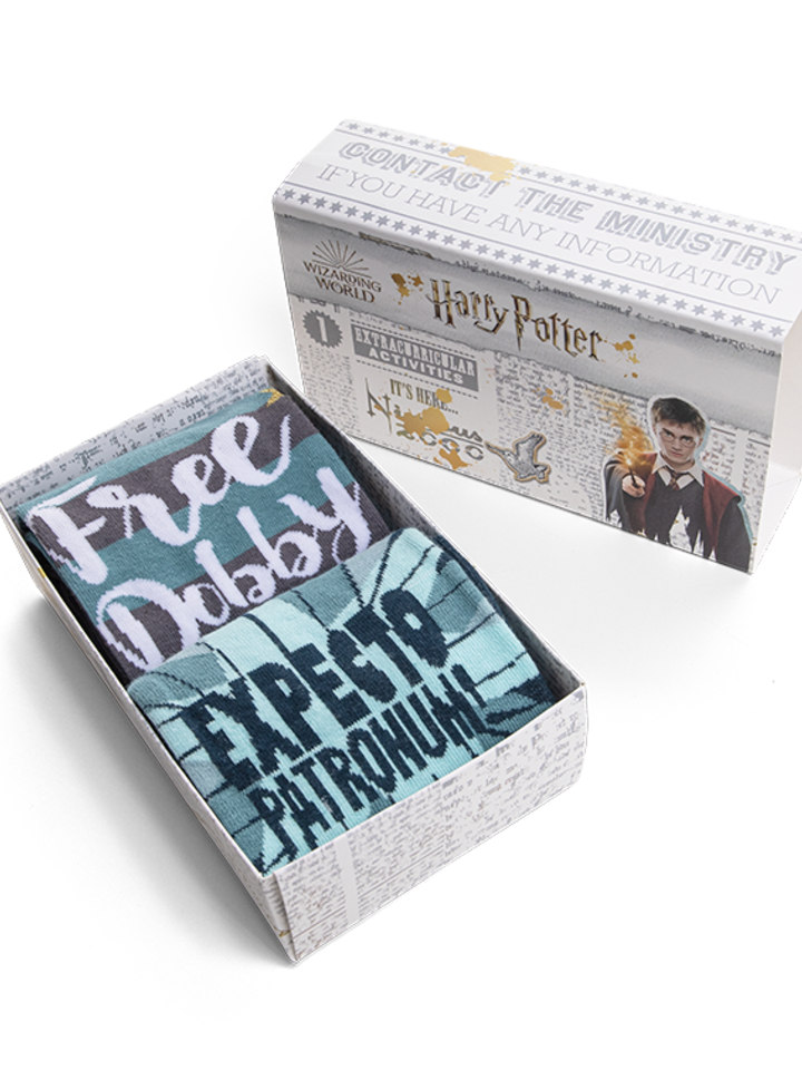 Lifestyle foto Caja regalo Harry Potter