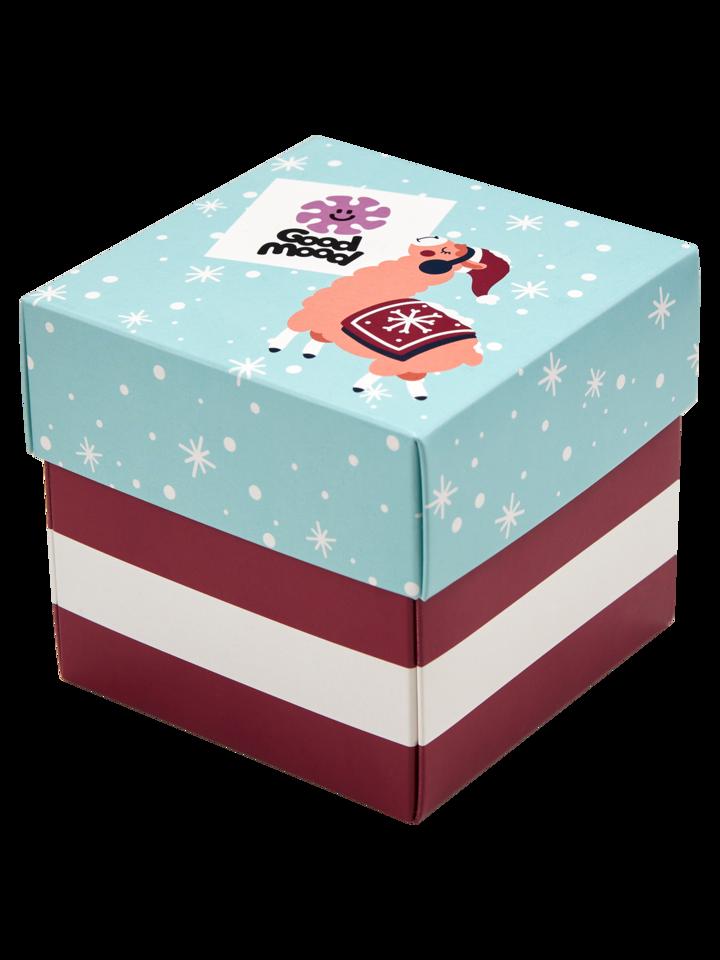 Foto Pudełko z prezentem Szalone Boże Narodzenie