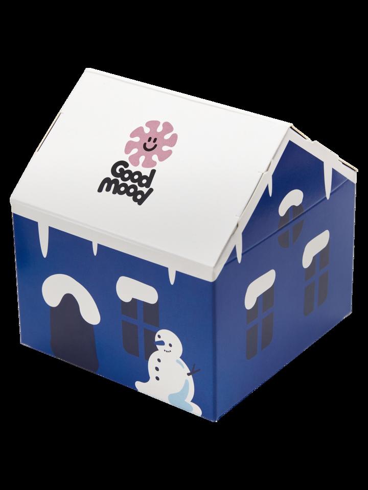 Suchen Sie ein originelles und außergewöhliches Geschenk? überrascht den Beschenkten sicher Geschenkbox Winterwunderland