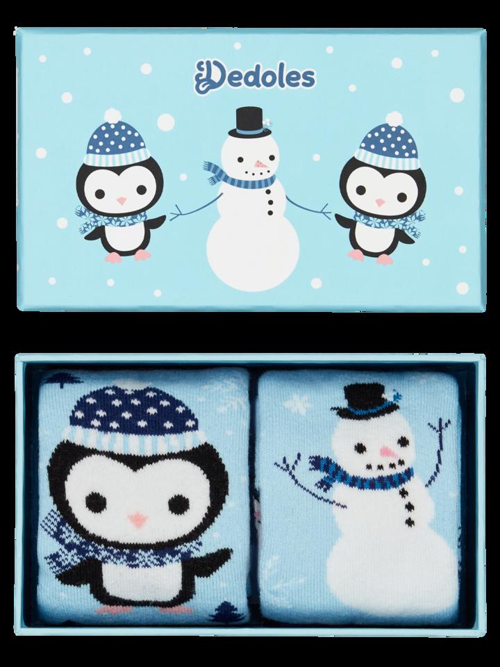 Pre dokonalý a originálny outfit Warm Kids' Gift BoxPenguin & Snowman