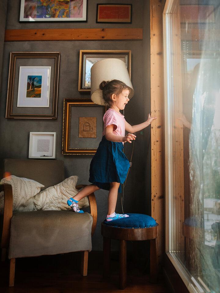 pro dokonalý a originální outfit Veselé dětské kotníkové ponožky Duhový jednorožec