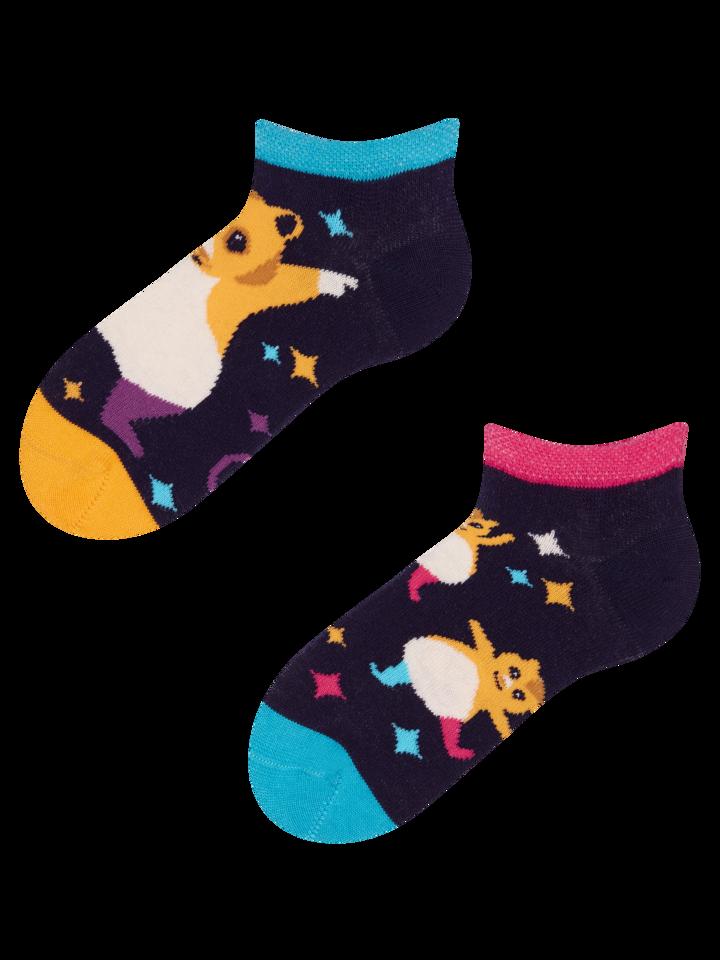Obrázok produktu Detské veselé členkové ponožky Párty škrečky