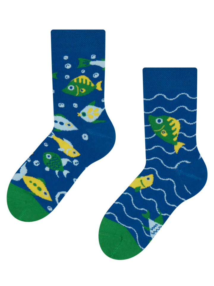 Sale Kids' Socks Aquarium Fish