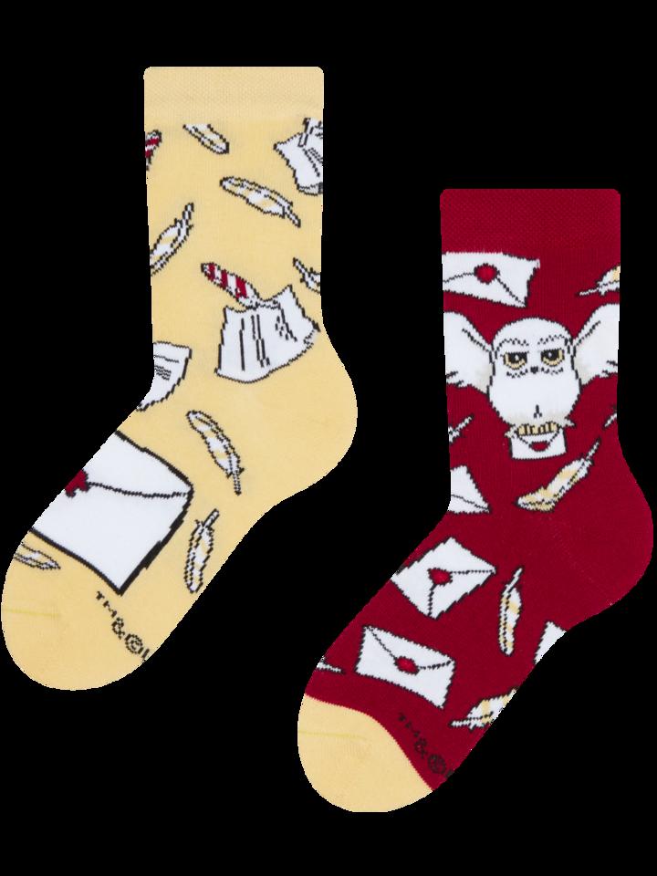 Lifestyle foto Dětské veselé ponožky Harry Potter ™ Dopis z Bradavic