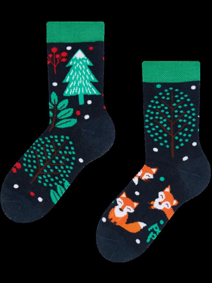 Tip na darček Vesele dječje čarape Crvena lisica