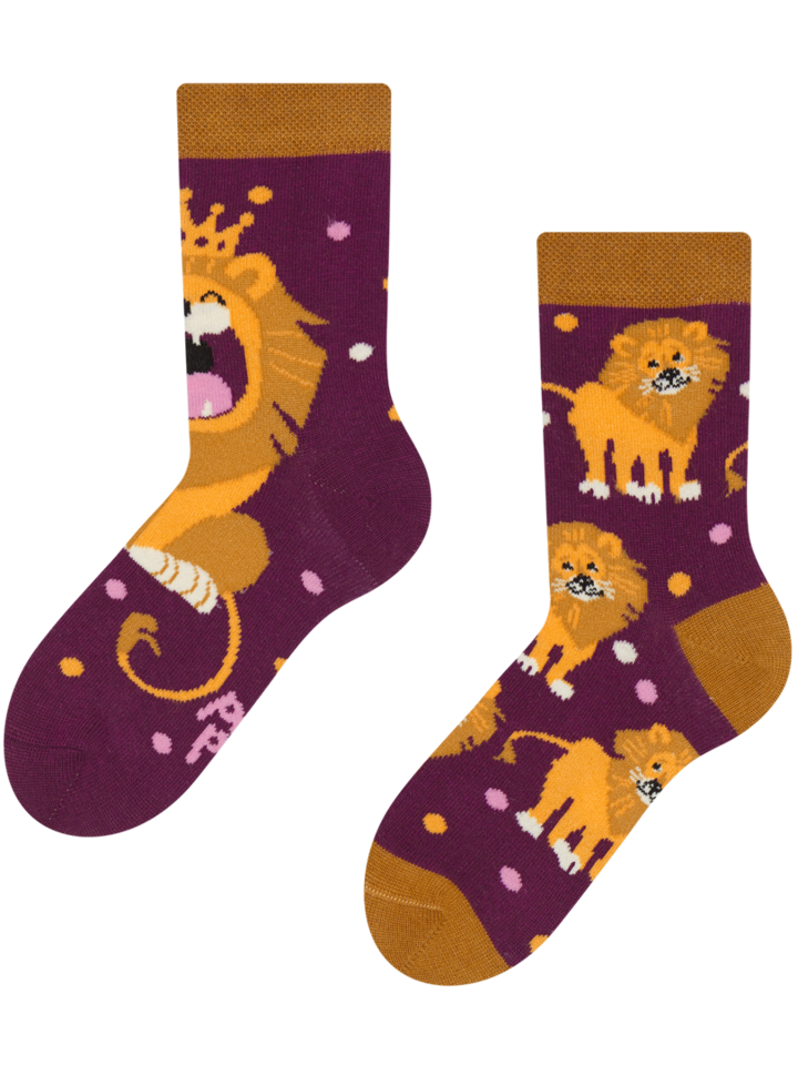 Original gift Kids' Socks King of the Jungle