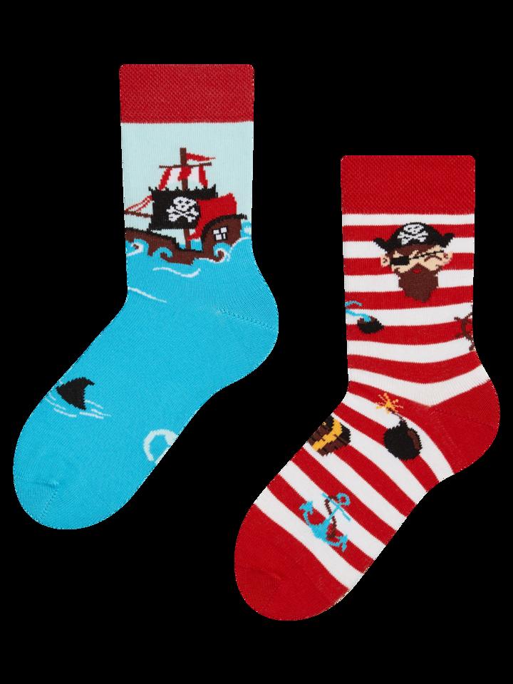 Pre dokonalý a originálny outfit Kids' Socks Pirate