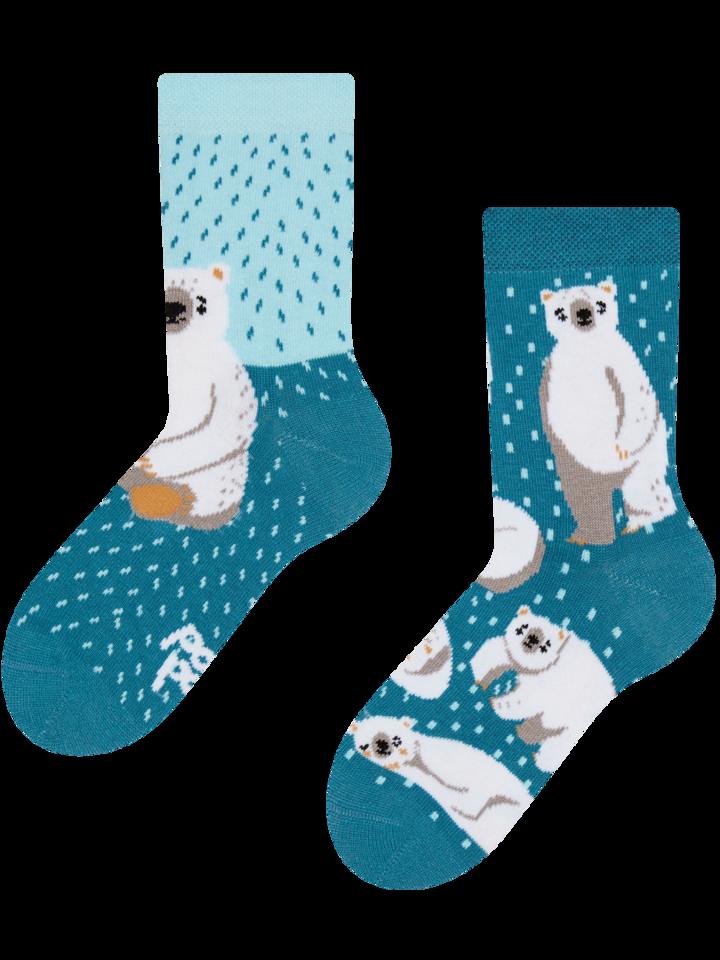 Obrázok produktu Vesele dječje čarape Polarni medvjedi