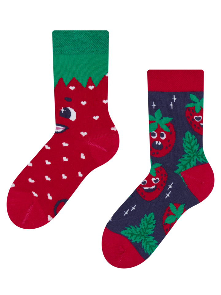 Sale Kids' Socks Happy Strawberries