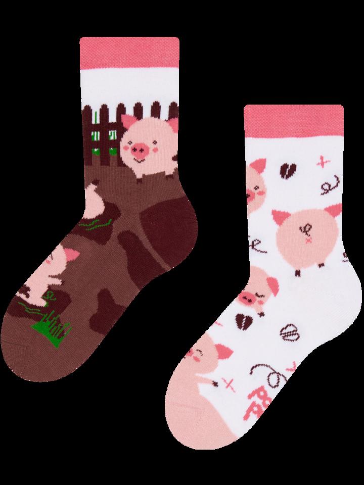 Pre dokonalý a originálny outfit Kids' Socks Happy Pigs