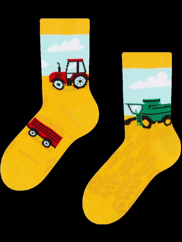 Výprodej Veselé dětské ponožky Traktor