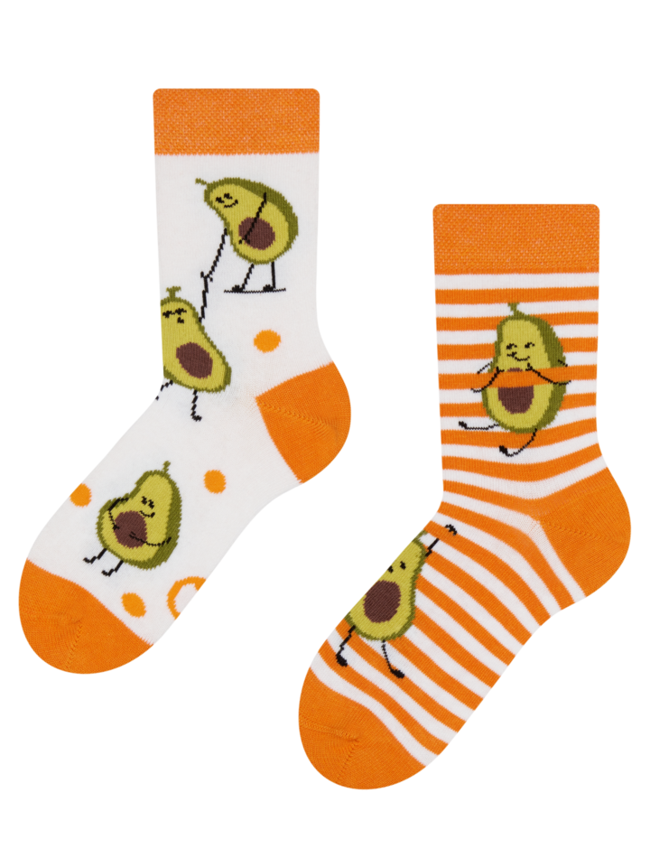 Looking for an original and unusual gift? The gifted person will surely surprise with Kids' Socks Funny Avocado