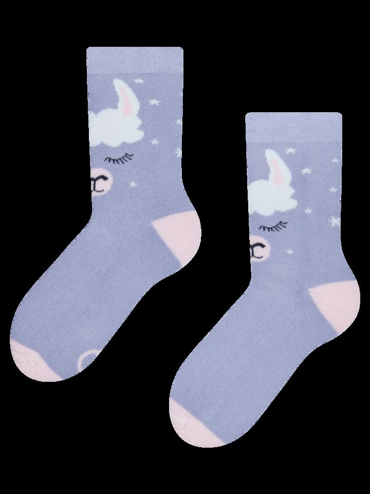 Výjimečný dárek od Dedoles Veselé dětské teplé ponožky Lama