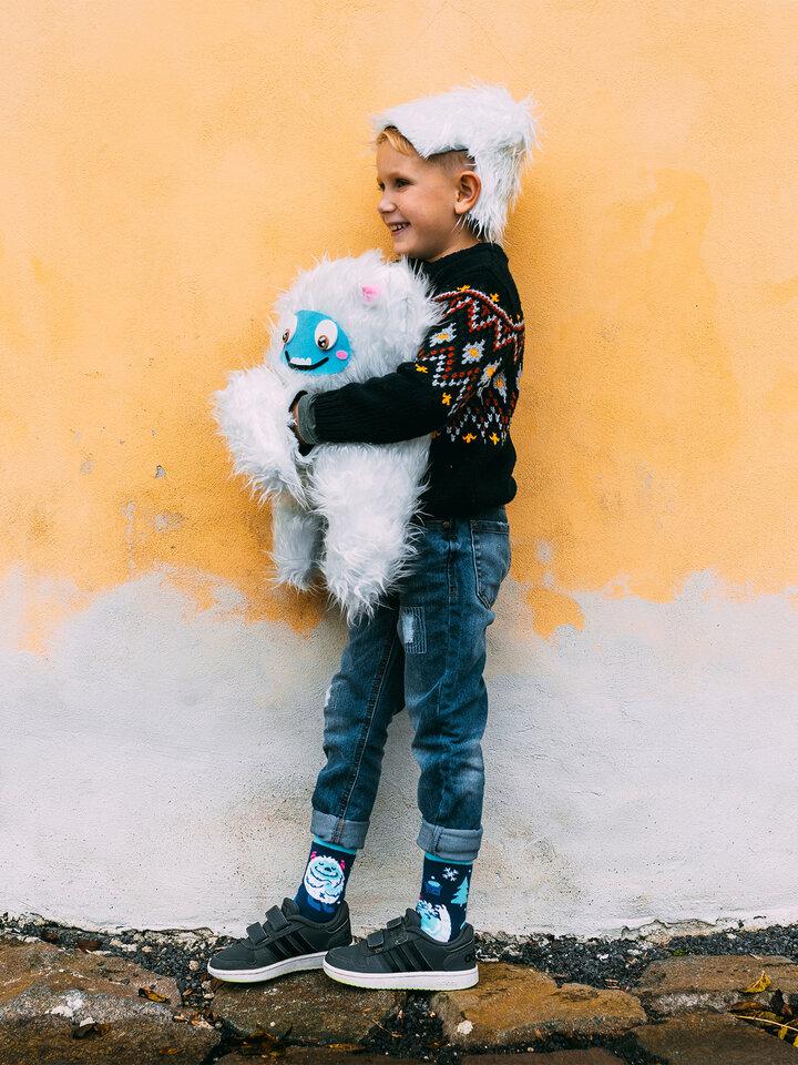 Gift idea Kids' Warm Socks Forest Yeti