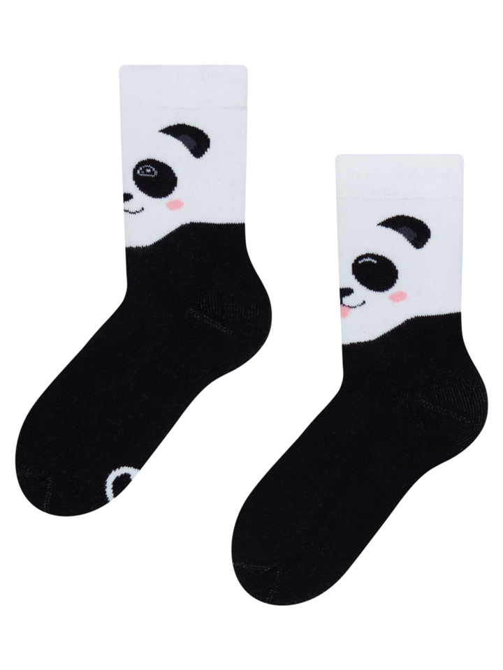 Lifestyle photo Kids' Warm Socks Happy Panda